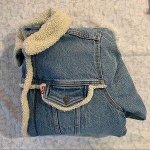 Levi's Sherpa lined Jean jacket